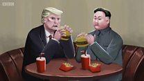ทรัมป์และคิม เห็นต่างในการปลดอาวุธนิวเคลียร์เกาหลีเหนือ