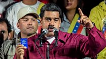 Venezuela's Maduro wins re-election