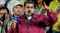 """Nicolás Maduro a sus seguidores: """"Gracias por sobreponerse a tantas agresiones a tanta mentira"""""""