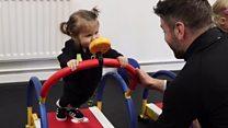 صالة رياضة خاصة بالاطفال لمعالجة السمنة