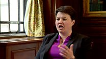 In full: Ruth Davidson interview with Laura Kuenssberg