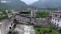 As cidades desertas devastadas por um terremoto há dez anos na China que viraram atração turística