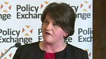 Arlene Foster: Rights are unionist issues