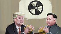 Ядерний бургер: які апетити у Трампа і Кіма?