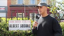 EastEnders stars on knife crime storyline