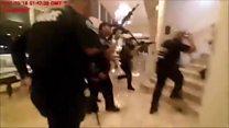 Police bodycam shows Trump resort shooting