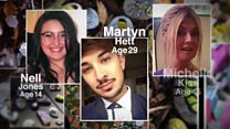 Manchester Arena bomb victims remembered