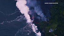 Vog: When lava hits the sea