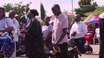 Bidiyon zanga-zangar Kiristoci a Abuja