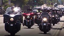 Manchester bikers ride to remember Saffie
