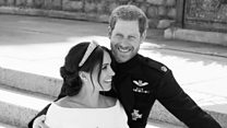 Capturing Meghan and Harry's 'beautiful moment'