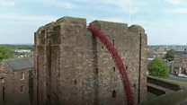 'Weeping Window' opens at Carlisle Castle