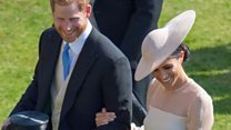 Prince Harry's speech interrupted by bee