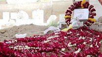 سیبکا شیخ تدفین لیکن امریکی 'گن کلچر' پر سوالات