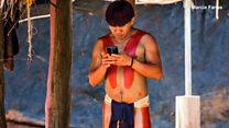 Деревня в Амазонии подключилась к соцсетям