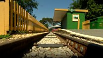 Miniature railway hits the buffers