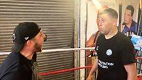 Footballer Grant Holt takes up wrestling