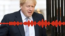Boris Johnson speaks to prank caller