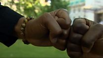 Two brothers go viral over fist bump