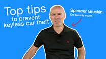 Top tips for car safety as thefts rise