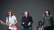 Courtney Barnett plays Nameless Faceless with some very special guests