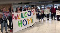 Welcoming people #HomeToVote in Dublin