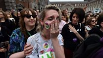 Irish abortion vote: 'We made history'