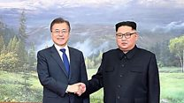 韓国、2度目の南北会談の「ハリウッド式」ビデオ公表