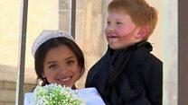 ICYMI: Kids recreate royal wedding
