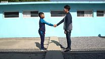 """Nam Hàn: Hy vọng về hoà bình thể hiện ở khu """"DMZ giả"""""""
