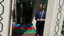 AXC-nin 100 illiyi münasibətilə Ankarada Rəsulzadənin məzarı ziyarət olunub