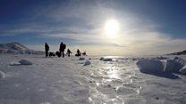 'Antarctica is my office'
