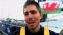 Volvo Ocean Race yn 'sbesial i Gaerdydd'