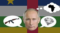 Why is Russia cosying up to the CAR?