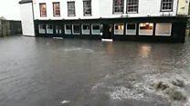 Kent hit by flash floods