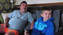 Boy, 12, helps father fight depression