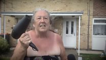 Hairdryer gran reflects on viral video