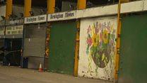 Derelict market takes centre stage