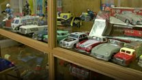 Toy enthusiast loans part of collection to local museum