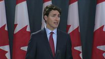 Trudeau: Canada not US security threat