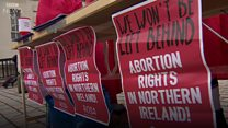 Abortion pills handed to police at pro-choice rally