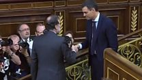 Spain's PM ousted from office