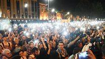 Протесты в Грузии. Чего добиваются митингующие?