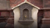 Restored Victorian water fountain reopens at St Pancras station