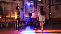 Silent disco at Salisbury Cathedral