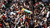 Funeral for Palestinian nurse killed in Gaza