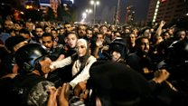 Police fire tear gas at Jordan protest