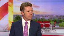 David Brown, managing director of Northern, apologises