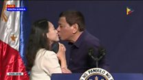 Duterte worker kiss sparks outrage