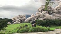 Guatemala: Hàng chục người chết vì núi lửa phun